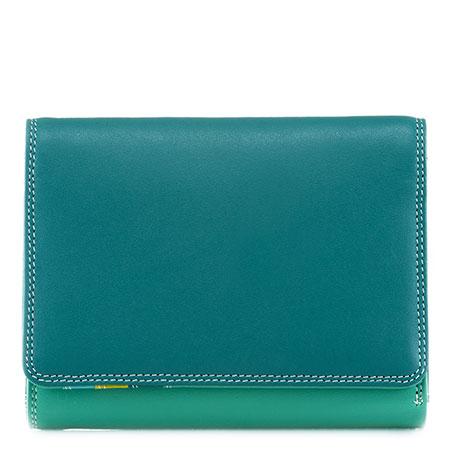 Medium Wallet w/Inner Leaf-Mint