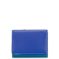 Medium Wallet w/Inner Leaf-Seascape