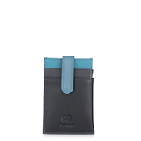 Money Clip CC Holder-Black Grey