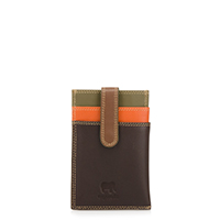 Money Clip CC Holder-Safari Multi
