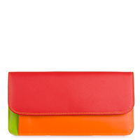 Simple Flapover Purse/Wallet-Jamaica