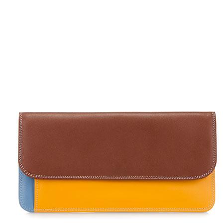 Simple Flapover Purse/Wallet-Siena