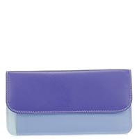 Simple Flapover Purse/Wallet-Lavender