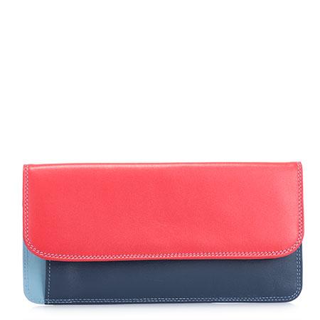 Simple Flapover Purse/Wallet-Royal