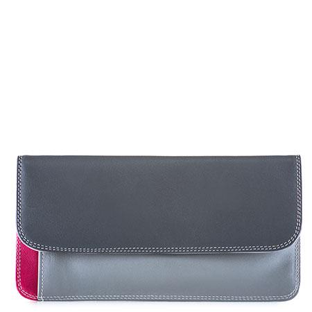 Simple Flapover Purse/Wallet-Storm