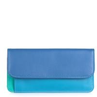 Simple Flapover Purse/Wallet-Aqua