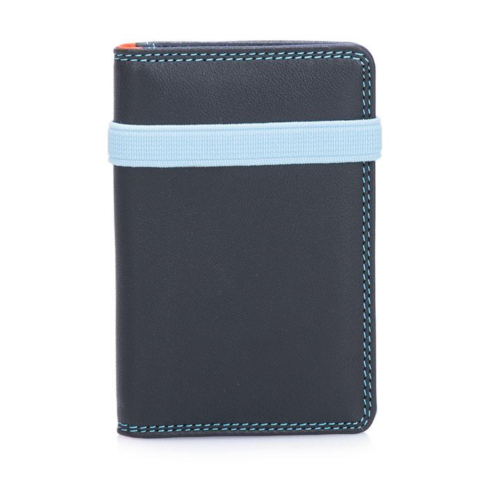 Slim Credit/Business Card Holder - Black Pace | mywalit