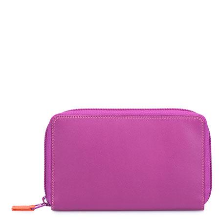 Zip Around Wallet w/Phone Pocket-Sangria Multi
