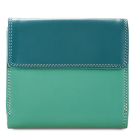 Tab and Flap Wallet-Mint