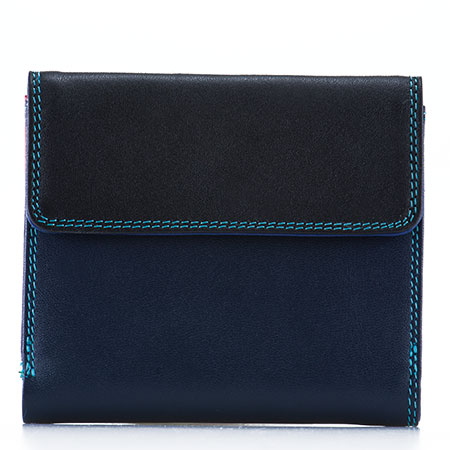 Tab and Flap Wallet-Black/Pace