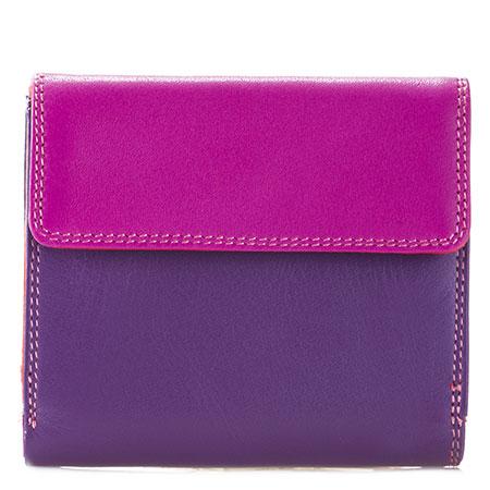 Tab and Flap Wallet-Sangria Multi
