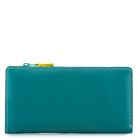 12 CC Zip Wallet-Mint
