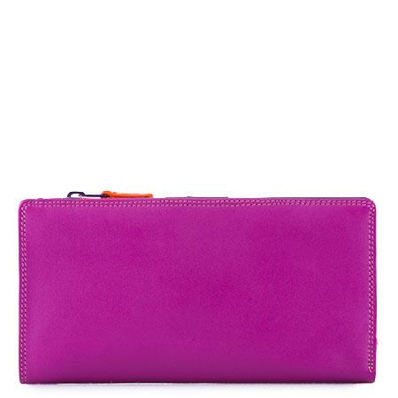 12 CC Zip Wallet-Sangria Multi