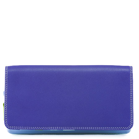 Flapover Wallet with Coin Section-Lavender