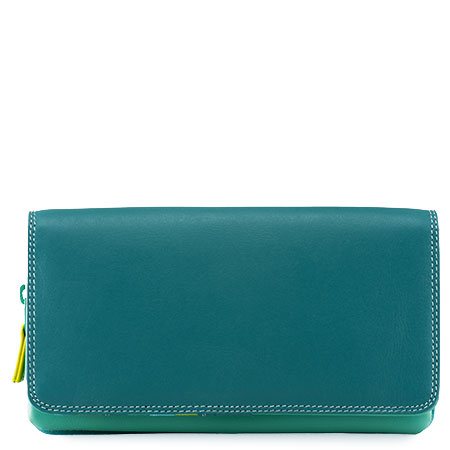 Flapover Wallet with Coin Section-Mint