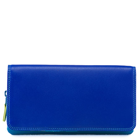 Flapover Wallet with Coin Section-Seascape