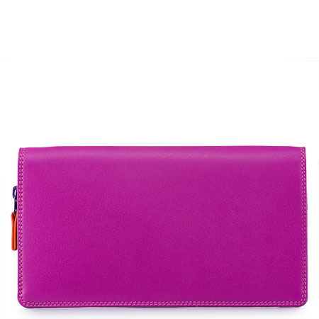 Large Wristlet Wallet-Sangria Multi