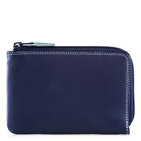 Zip Around Wallet-Denim