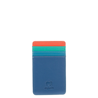 N/S Credit Card Holder-Aqua