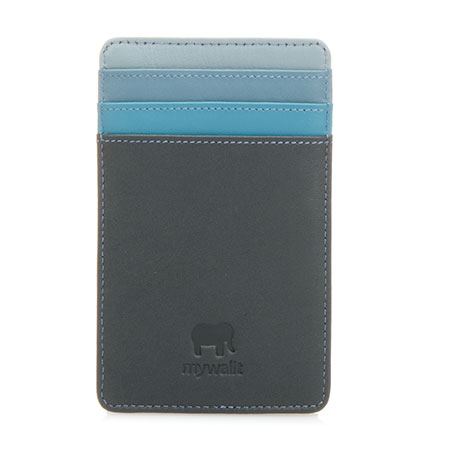 N/S Credit Card Holder-Smokey Grey