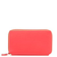 Malta Large Double Zip Purse-Candy