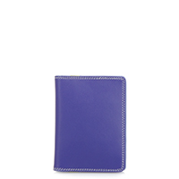 Credit Card Holder w/Plastic Inserts-Lavender