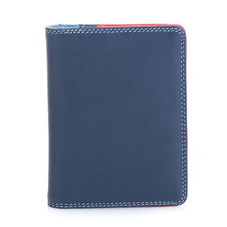 Credit Card Holder w/Plastic Inserts-Royal