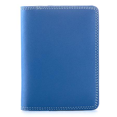 Credit Card Holder w/Plastic Inserts-Denim