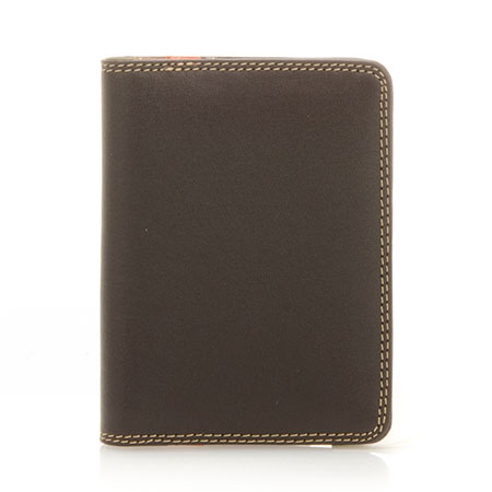 Credit Card Holder w/Plastic Inserts-Safari Multi