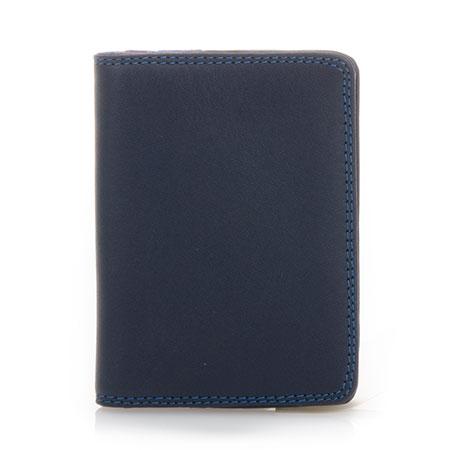 Credit Card Holder w/Plastic Inserts-Kingfisher