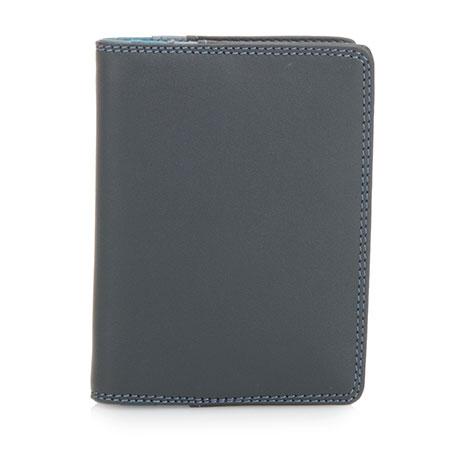 Credit Card Holder w/Plastic Inserts-Smokey Grey