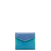 Cape Town Small Envelope Purse-Aqua
