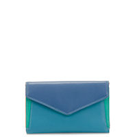 Cape Town Medium Envelope Purse-Aqua