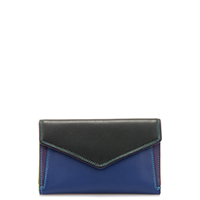 Cape Town Medium Envelope Purse-Black/Pace