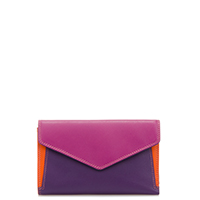 Cape Town Medium Envelope Purse-Sangria Multi