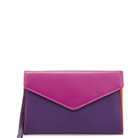 Cape Town Wristlet Envelope Purse-Sangria Multi