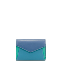 Cape Town Tri-fold Envelope Purse-Aqua