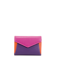 Cape Town Tri-fold Envelope Purse-Sangria Multi