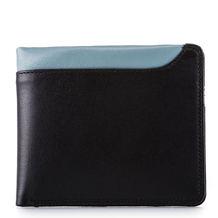Greenwich Wallet with Removable CC Holder-Black