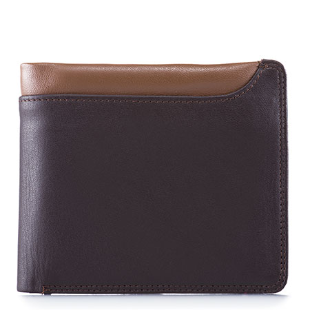Greenwich Wallet with Removable CC Holder-Brown