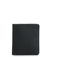 Standard Wallet-Black Grey