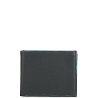 Medium Men's Wallet-Black Grey