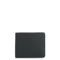 Large Men's Wallet w/Britelite-Black Grey