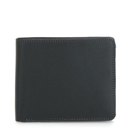 Large Men's Wallet w/Britelite-Black Grey