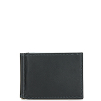 Money Clip Wallet-Black Grey