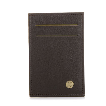 Panama N/S Credit Card Cover-Brown