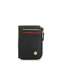 Panama Zip Wallet ID/Holder-Black