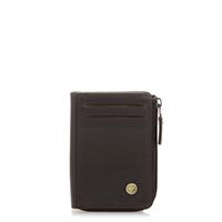 Panama Zip Wallet ID/Holder-Brown