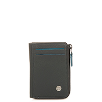Panama Zip Wallet ID/Holder-Smokey Grey