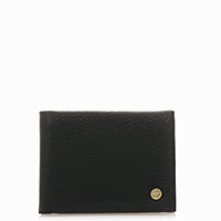 Panama Wallet with Coin Pocket-Black